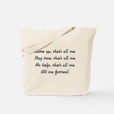 all me Tote Bag