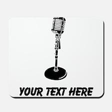 Retro Microphone (Custom) Mousepad