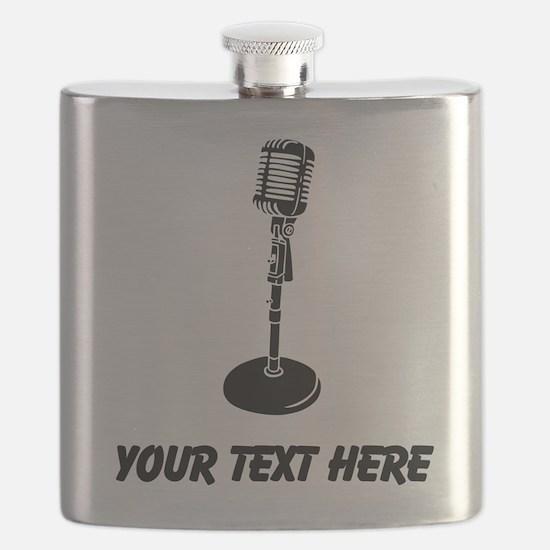 Retro Microphone (Custom) Flask