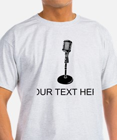 Retro Microphone (Custom) T-Shirt