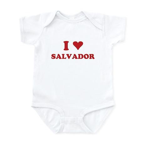 I LOVE SALVADOR Infant Bodysuit
