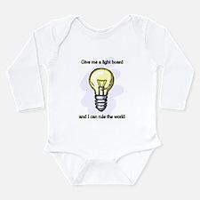 Funny Stage Long Sleeve Infant Bodysuit