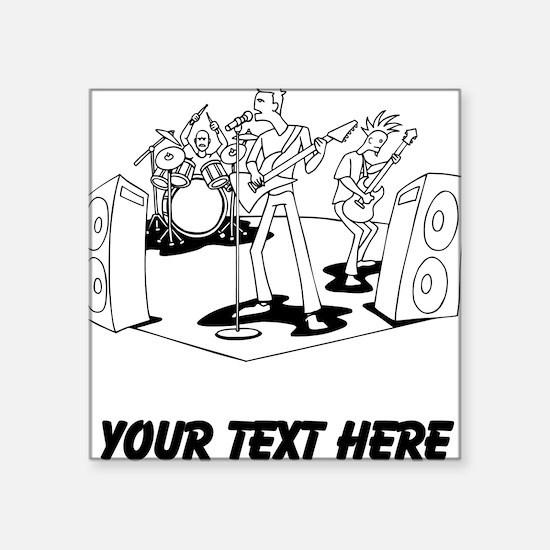 Rock Band (Custom) Sticker