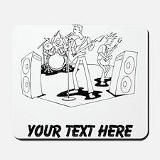 Rock Band (Custom) Mousepad