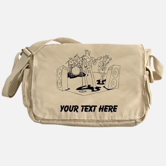 Rock Band (Custom) Messenger Bag