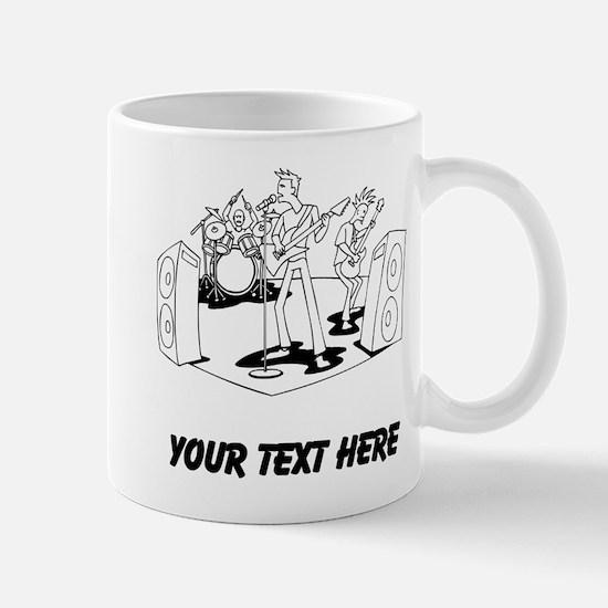 Rock Band (Custom) Mugs