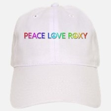 Peace Love Roxy Baseball Baseball Baseball Cap