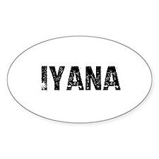 Iyana Oval Decal
