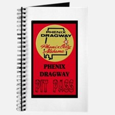 Phenix Dragway Pit Pass Journal