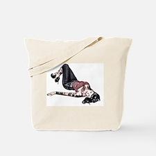 Cute Tattooed pinup girls Tote Bag
