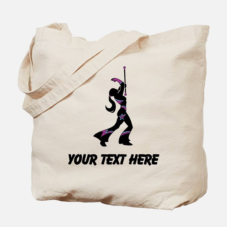 Baton Twirler (Custom) Tote Bag