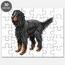 Gordon Setter Standing Puzzle