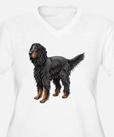 Gordon Setter Standing Plus Size T-Shirt