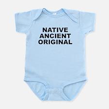 Native Ancient Original Light Infant Body Suit