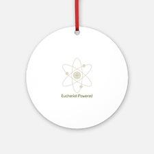 Eucharist Powered Round Ornament