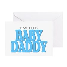 I'm the Baby Daddy Greeting Cards (Pk of 10)