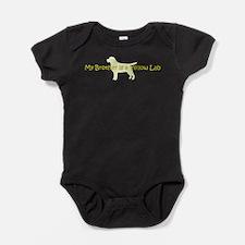 Cute Herropuppy.com Baby Bodysuit