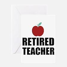 Retired Teacher Greeting Cards