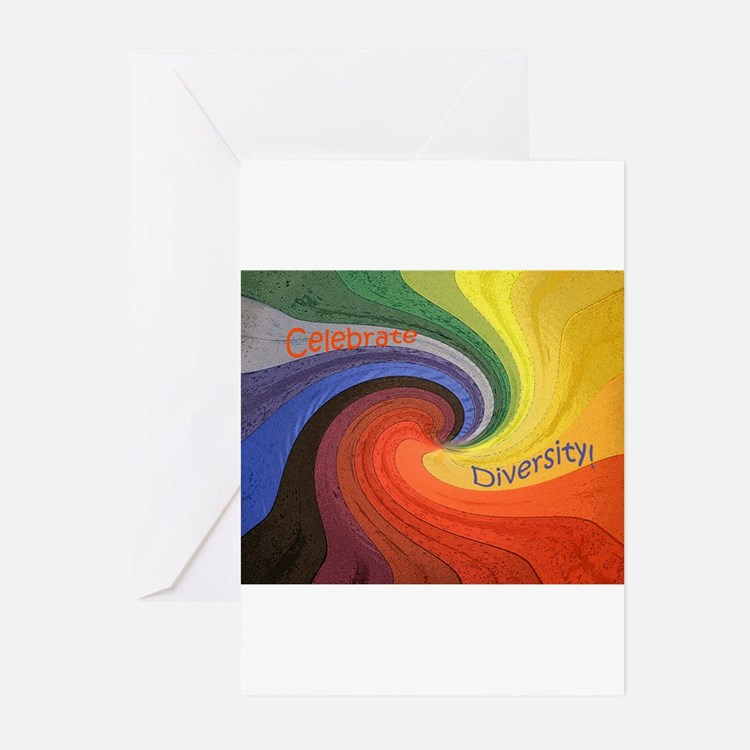 Cute Diversity Greeting Cards (Pk of 10)