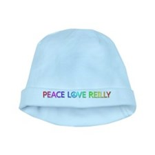 Peace Love Reilly baby hat