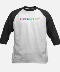 Peace Love Reilly Baseball Jersey