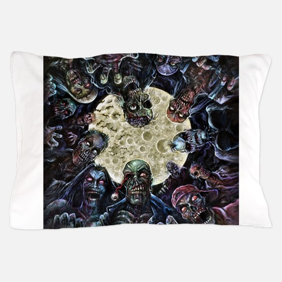Cute Zombies attack! mckendrick walking dead undead wal Pillow Case