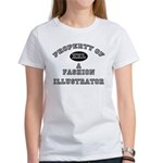 Property of a Fashion Illustrator Women's T-Shirt