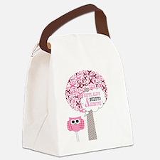 Funny Breast cancer survivor Canvas Lunch Bag
