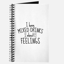 Mixed Drinks About Feelings Journal