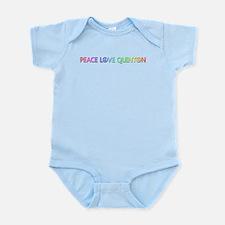 Peace Love Quinton Body Suit