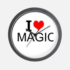 I Love Magic Wall Clock