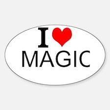 I Love Magic Decal
