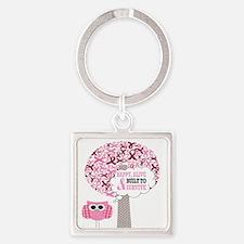 happy & alive breast cancer survivor Keychains