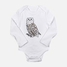 Cute Aviary Long Sleeve Infant Bodysuit