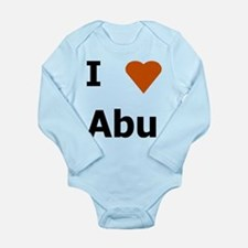 Funny Islamic Long Sleeve Infant Bodysuit