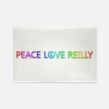Peace Love Reilly Rectangle Magnet