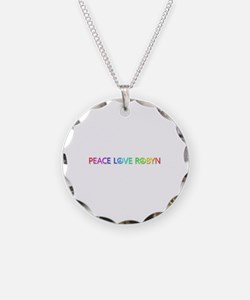 Peace Love Robyn Necklace