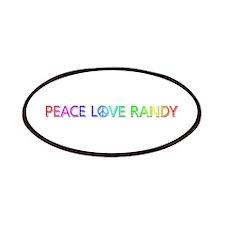Peace Love Randy Patch
