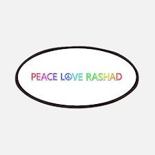 Peace Love Rashad Patch
