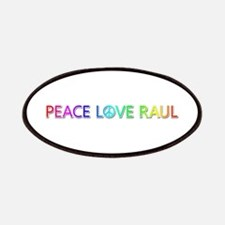 Peace Love Raul Patch