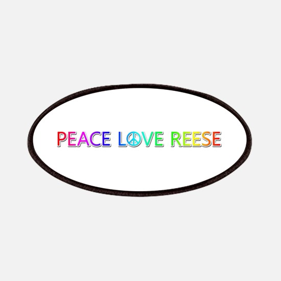 Peace Love Reese Patch