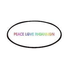 Peace Love Rhiannon Patch