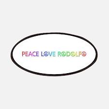 Peace Love Rodolfo Patch
