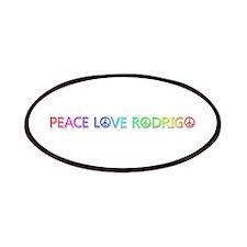 Peace Love Rodrigo Patch