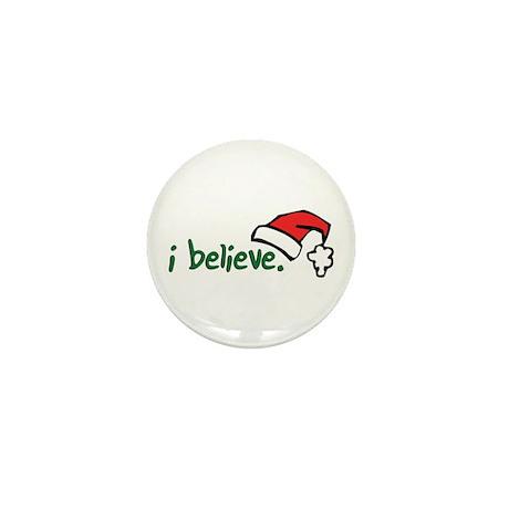 i believe. Mini Button (10 pack)