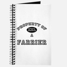 Property of a Farrier Journal
