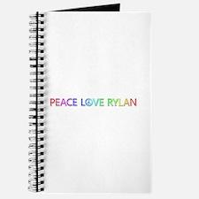 Peace Love Rylan Journal