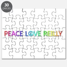 Peace Love Reilly Puzzle
