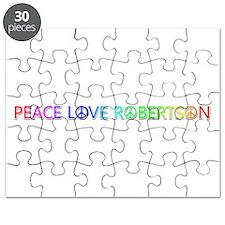 Peace Love Robertson Puzzle