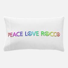 Peace Love Rocco Pillow Case